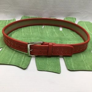 Appears to be New Striking Coral Color Belt